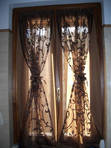 Tende a vetro for Tende finestra soggiorno
