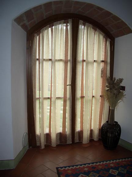 Tende per finestre ad arco idee per la casa - Tende a vetro per finestre ...