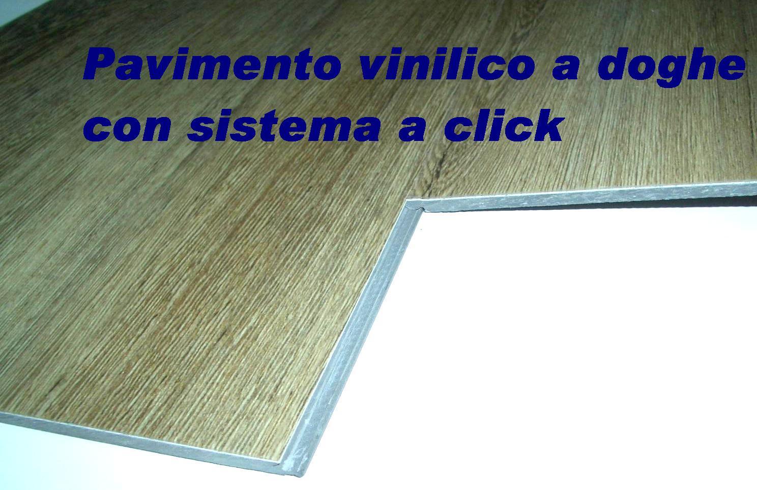 Pavimento Vinilico A Doghe Con Incastro A Click